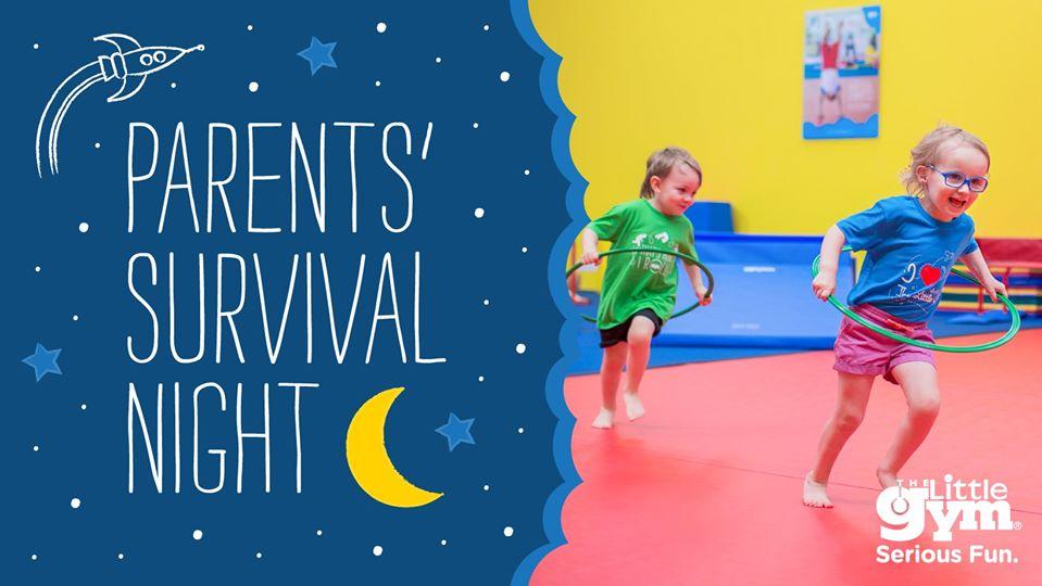 вечер за родители в The Little Gym, Parents' Survival Night в The Little Gym-TLG-Sofia-Yuppie.bg