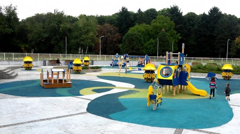 SeverenPark-Sofia1, С деца в Северния Парк